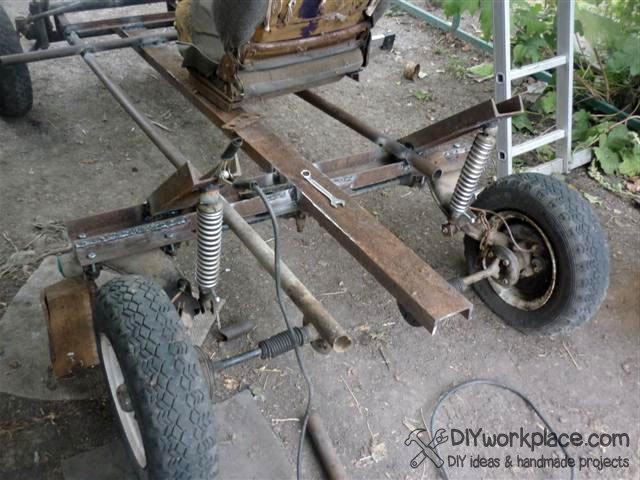 Как сделать кран на трактор своими руками фото 540