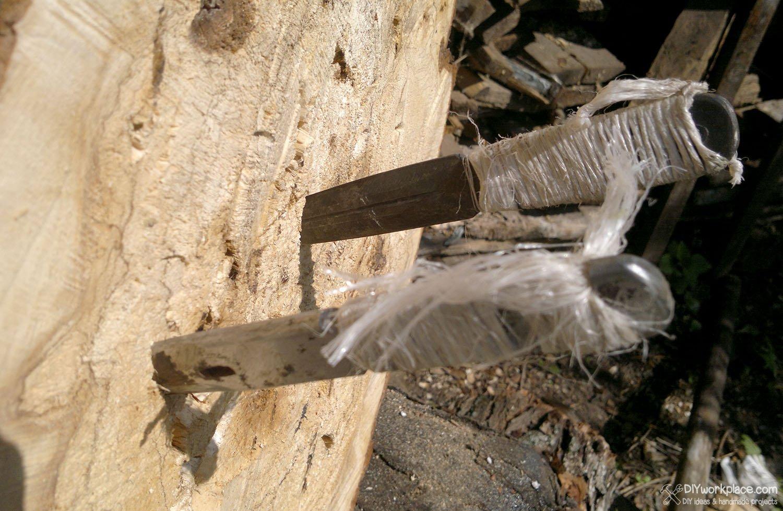 Ножи - всё о ножах: Метательные ножи своими руками 67