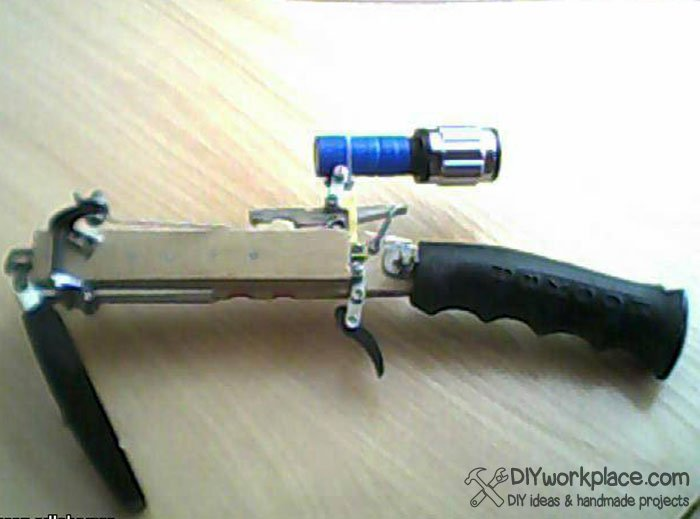 How To Make Mini Crossbow