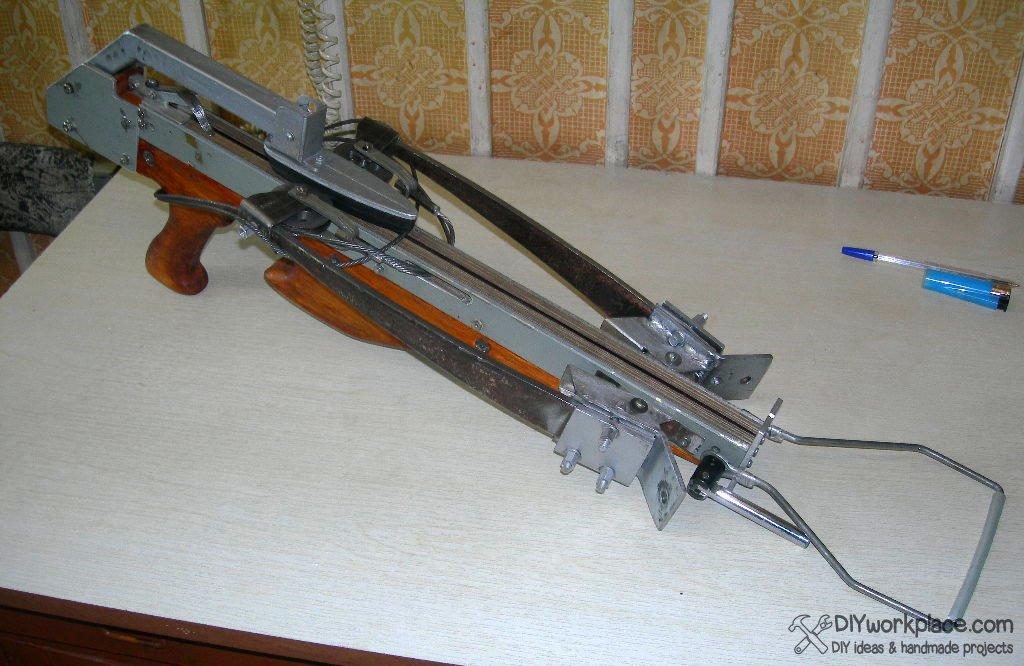 DIY Foldable Crossbow