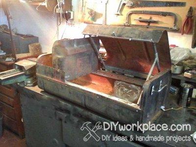 Как сделать апокалиптичный мангал из металла