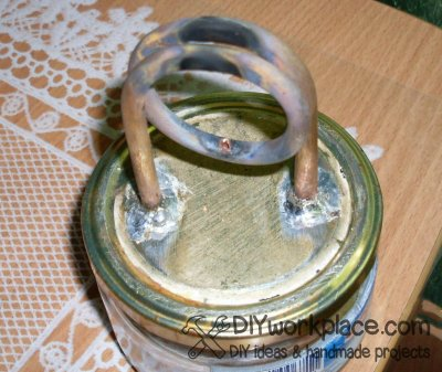 DIY alcohol stove