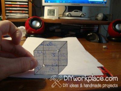 Иллюзия с кубом