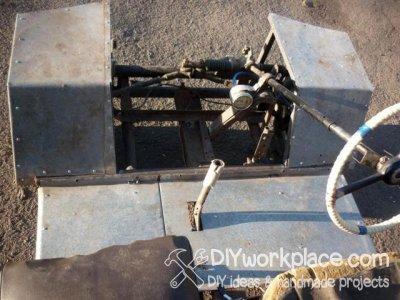 Как сделать мини трактор своими руками