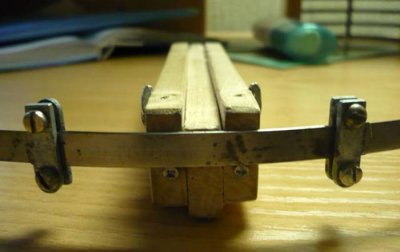 Homemade mini crossbow