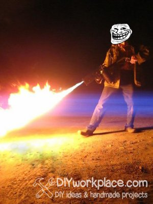 How to build a flamethrower