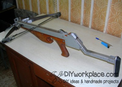DIY foldable crossbow