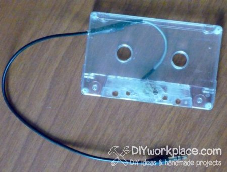 MP3 to tape recorder adapter