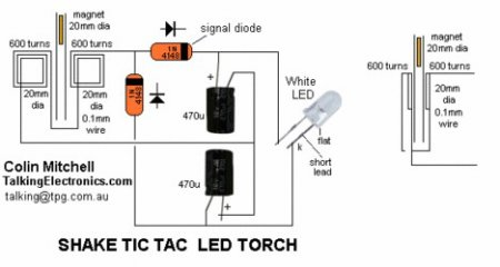 DIY led rechargeable torch