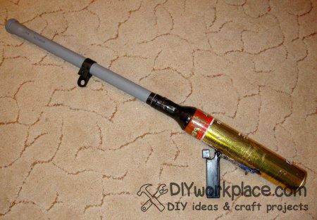 Картофельная пушка с глушителем