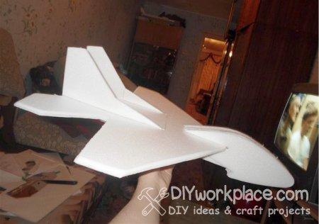 DIY foam plane
