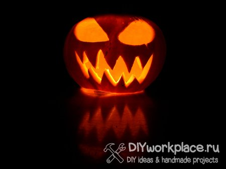 Как сделать тыкву на Хэллоуин