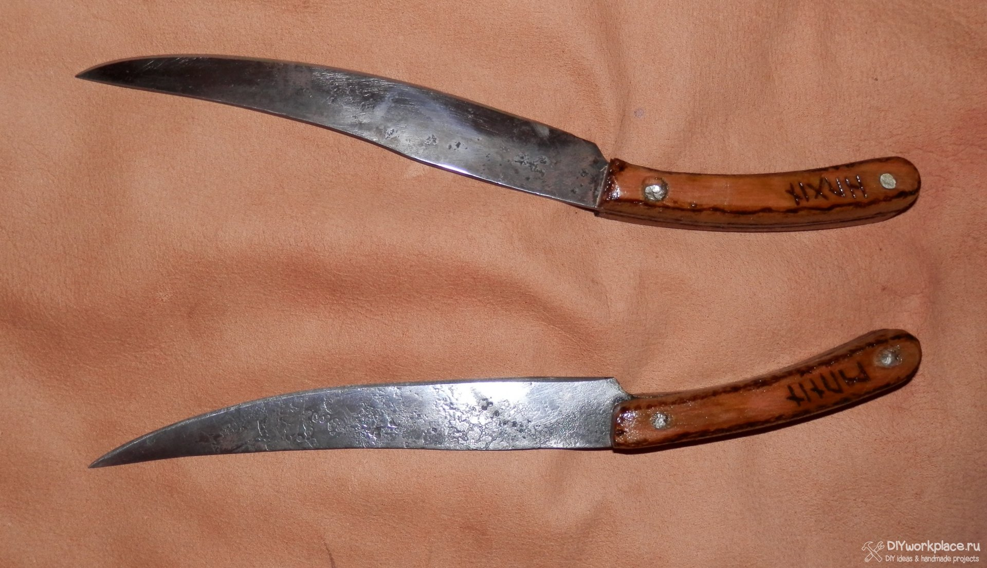 Эльфийский клинок своими руками Метательный нож своими руками