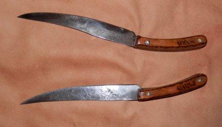 Изготовление эльфийских ножей